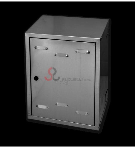 Cassetta contatore gas zincato (50x40x25)