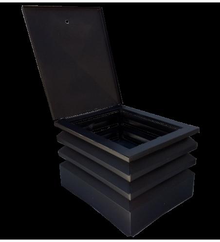 Comignolo Impero grigio (42x42)