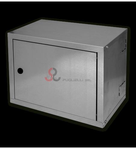 Cassetta 20x30x15 contatore acqua zincato senza scritta